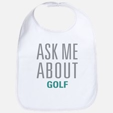 Ask Me About Golf Bib