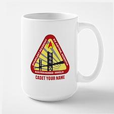 Personalized Starfleet Academy Emblem Large Mug