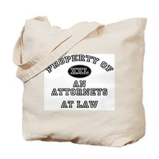 Property of an Attorneys At Law Tote Bag