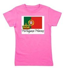 Cute Portuguese language Girl's Tee