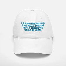 If slaughterhouses - Baseball Baseball Cap