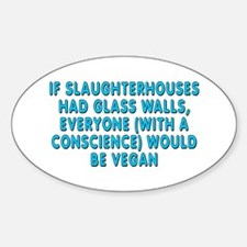 If slaughterhouses - Decal