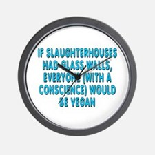 If slaughterhouses - Wall Clock