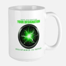Personalized Star Trek Borg Alcove Mug