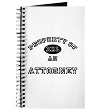 Property of an Attorney Journal