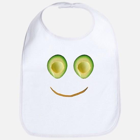 Cute Avocado Face Rhonda's Fave Bib