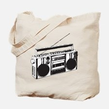 Cute Boombox Tote Bag