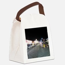 Cute Seaside heights Canvas Lunch Bag