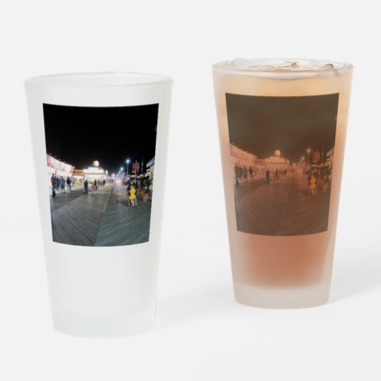 Unique Seaside heights Drinking Glass