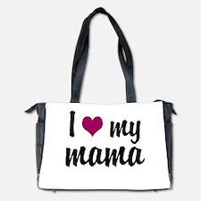 I Love My Mama Diaper Bag