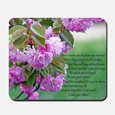 Mothers Day Poem Mousepad