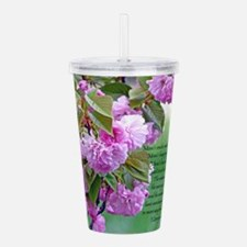 Mothers Day Poem Acrylic Double-wall Tumbler