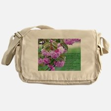 Mothers Day Poem Messenger Bag