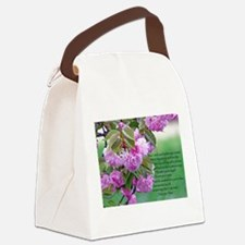 Mothers Day Poem Canvas Lunch Bag