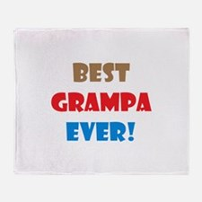 Unique Grampa Throw Blanket