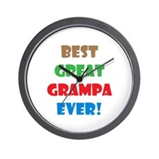 Unique Grampa Wall Clock