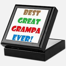 Cute Grampa Keepsake Box