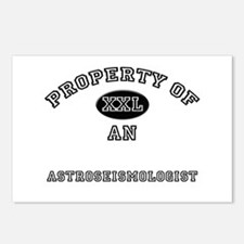 Property of an Astroseismologist Postcards (Packag
