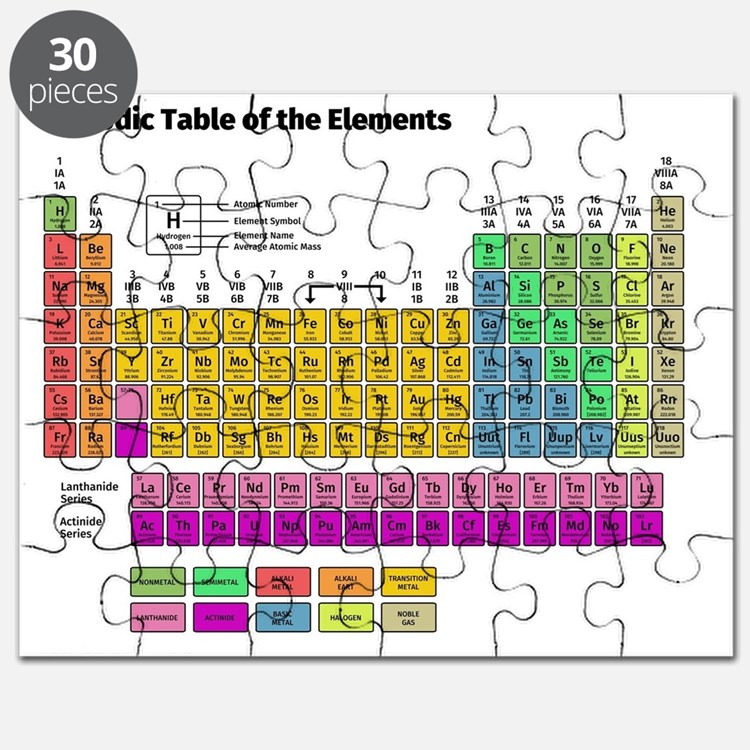 Cute Chemical Puzzle