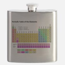 Cute Periodic table Flask