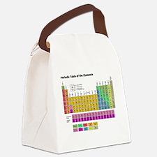Unique Periodic table Canvas Lunch Bag