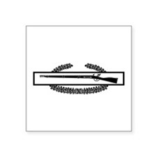"Cute 75th infantry Square Sticker 3"" x 3"""