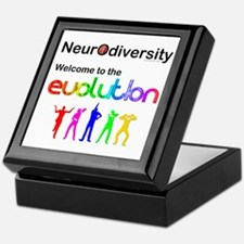 Neurodiversity Evolution Keepsake Box