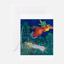 Russian Fairy Tale - The Firebird by Greeting Card