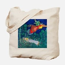 Russian Fairy Tale - The Firebird by Edmu Tote Bag