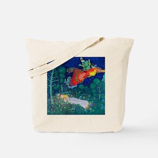 Russian Fairy Tale - The Firebird by Edmu Tote Bag