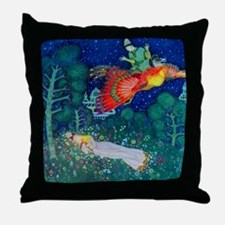 Russian Fairy Tale - The Firebird by Throw Pillow