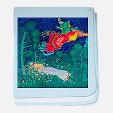 Russian Fairy Tale - The Firebird by baby blanket