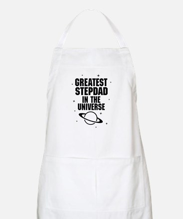 Greatest Stepdad In The Universe Apron