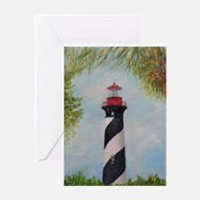 LIGHTHOUSE OF ST. AUGUSTINE, FLORIDA Greeting Card