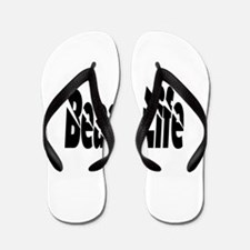 Unique Tote Flip Flops
