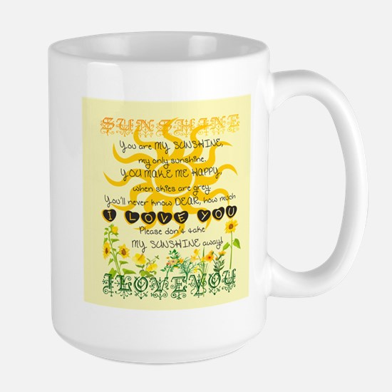 You are my sunshine! Mugs