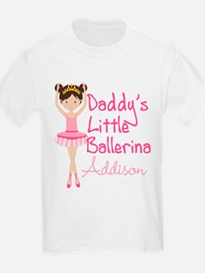 Daddys Ballerina Brunette T-Shirt