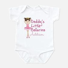 Daddys Ballerina Brunette Infant Bodysuit