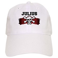 julius is a pirate Baseball Cap