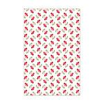 Cherries Pattern Mini Poster Print