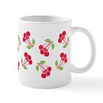 Cherries Pattern Ceramic Coffee Mug