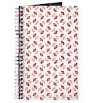 Cherries Pattern Journal