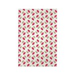 Cherries Pattern Rectangle Magnet (10 pack)