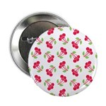 "Cherries Pattern 2.25"" Button (100 pack)"