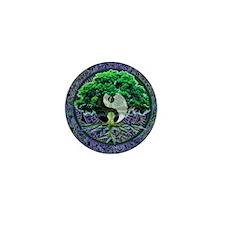 Tree of Life Balance Mini Button