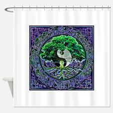 Tree of Life Balance Shower Curtain