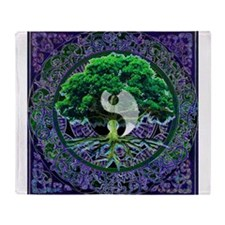 Tree of Life Balance Throw Blanket