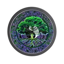 Tree of Life Balance Wall Clock