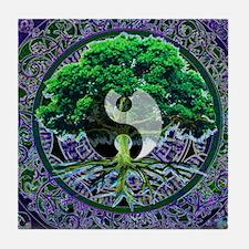 Tree of Life Balance Tile Coaster
