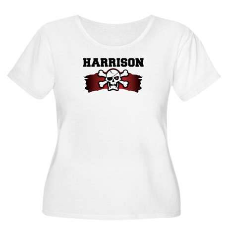 harrison is a pirate Women's Plus Size Scoop Neck